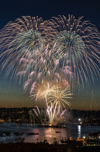 Seattle_fireworks_during_summer